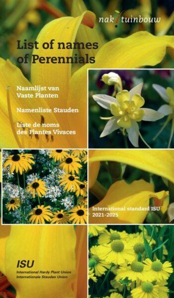 Vydány nové Seznamy názvů dřevin aSeznamy jmen trvalek / fotogalerie / Cover Perennials