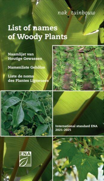 Vydány nové Seznamy názvů dřevin aSeznamy jmen trvalek / fotogalerie / Cover Woody Plants
