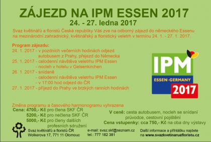 Zájezd na IPM ESSEN 2017 / fotogalerie / essen